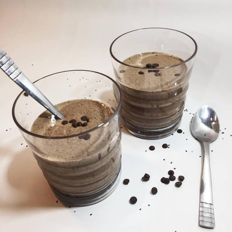 chocolate chica seed pudding